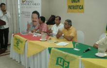 La UP entrega respaldo a Rafael Sánchez para la Alcaldía