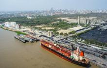 Llega a Barranquilla primera carga de carbón de Santander