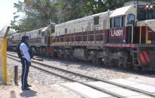 La línea férrea tiene 226 kilómetros de longitud.