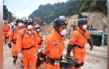 El personal de rescate continúa en la búsqueda.