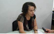María Noguera, en su visita a EL HERALDO.