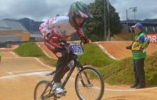 Gabriela Bolle alcanza, en el BMX, la duodécima medalla de plata para el Atlántico en los Nacionales