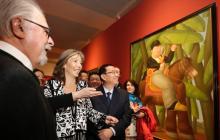 Botero muestra 96 cuadros de colección privada en su primera exposición en China