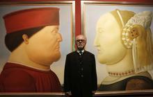 El arte 'pesado' de Botero se hace sentir, por primera vez, en China