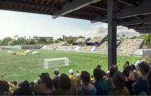 La cancha del estadio Romelio Martínez será reorientada 90°
