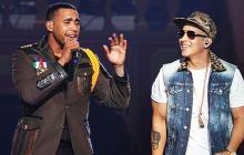 Daddy Yankee y Don Omar se baten en un escenario por el reinado del reguetón