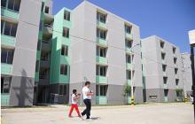 Así se ven los bloques de apartamentos de la Urbanización Vipa Verde.