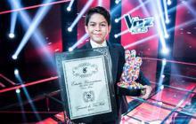 """""""Sabía que tenía que cantar como nunca para convencer a la gente de mi talento"""": Luis Mario, ganador de La Voz Kids"""