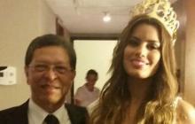 """""""Ariadna está al cuidado de su familia en Miami"""": padre de Miss Colombia"""