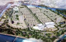 Imagen del render que muestra el proyecto de renovación urbanístico  que se hará en La Loma.