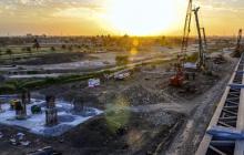 Así luce la construcción de la nueva estructura.