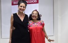 Judy Hazbún y Totó la Momposina, de visita en El HERALDO