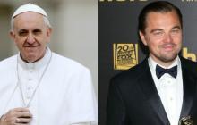 Leonardo DiCaprio y el papa Francisco se reúnen en el Vaticano