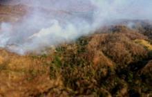 Incendio consume bosque de Sierra Nevada en Aracataca