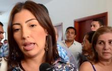 Laura Herrera, alcaldesa declarada en nulidad.