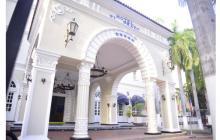 Fachada del hotel El Prado de Barranquilla, ubicado en la carrera 54 con calle 70.