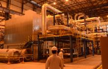 La planta de generación térmica de Termoflores, de Celsia, en Barranquilla.