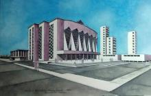 En lienzo se dibuja la época dorada de Barranquilla
