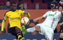 Adrián Ramos anota con el Borussia Dortmund antes de unirse a la Selección
