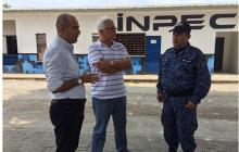 El secretario de salud de Córdoba, José Jaime Pareja, visitó el penal el fin de semana.