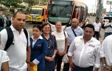 Alcalde de Cartagena y Ministra de Transporte inauguran fase comercial de Transcaribe
