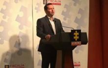 Jorge Perdomo, vicefiscal, hizo el anuncio este domingo en Bogotá.