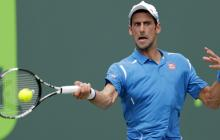 Novak Djokovic, finalista del Masters 1.000 de Miami