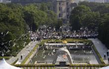Ministros Exteriores G-7 piden desarme nuclear en Hiroshima