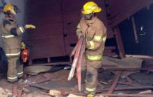 28 niños resultaron lesionados al colapsar colegio en Fusagasugá