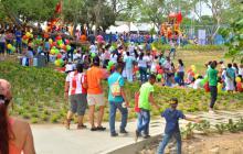 Con picnic y carreras de bicicrós inauguran el Jardín Botánico