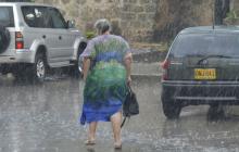 Las primeras lluvias en Cartagena