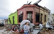Casi 8.000 desplazados en Uruguay por inundaciones
