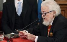 Fernando Del Paso recoge el Premio Cervantes denunciando la situación actual de México