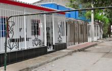 En esta vivienda del barrio Villa Muvdi  fue donde se presentaron los hechos.