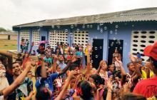 Niños de Pedraza celebraron su día