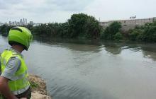 En este sitio se ahogó la mujer de 62 años.