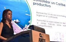 María Claudia Lacouture, ministra de Comercio, Industria y Turismo