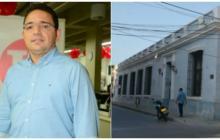 """El alcalde Rafael Martínez ha dicho que """"Metroagua quiere atornillarse en el poder"""". En la siguiente imagen, la sede de la empresa."""