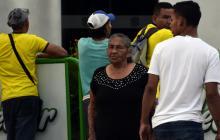 Abuela de Mejía acompañó a Nacional en su llegada a Barranquilla