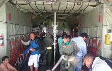 Militares mantienen misiones humanitarias en el Cauca en medio de paro agrario