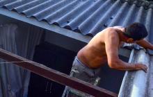 Decretan urgencia manifiesta por vendaval que afectó a 204 viviendas