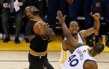 LeBron e Irving mantienen con vida a los Cavaliers en las finales de la NBA