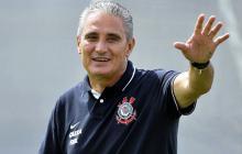 Tite reemplaza a Dunga como director técnico de la selección Brasil.