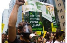 Protesta de ecologistas de Greenpeace