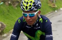 Nairo Quintana y Valverde encabezan el equipo Movistar en el Tour de Francia