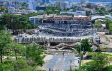 La tristeza de despedir el Coliseo Humberto  Perea, una de las obras simbólicas de Barranquilla