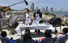 Promoviendo comida saludable, Estados Unidos celebró el 4 de Julio en Cartagena