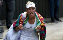 Angelique Kerber impide la final de las Williams en Wimbledon