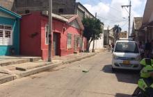 Calle 29 con calle 35, barrio Rebolo. Lugar donde ocurrió el homicidio.