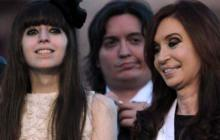 Cristina Fernández de Kirchner con su hija Florencia Kirchner